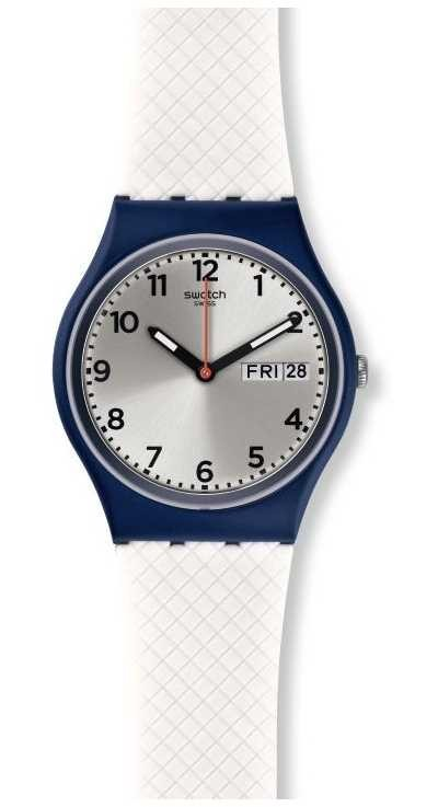 Swatch | Original Gent | White Delight Watch | GN720