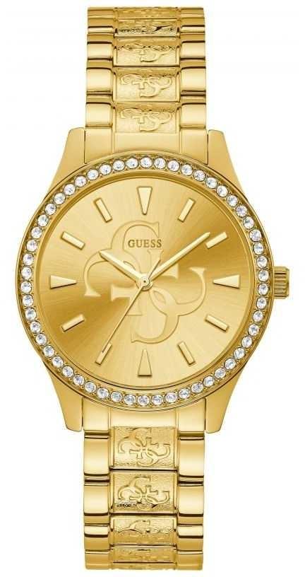 Guess | Women's Anna | Gold Metal Bracelet | Champagne Dial | W1280L2