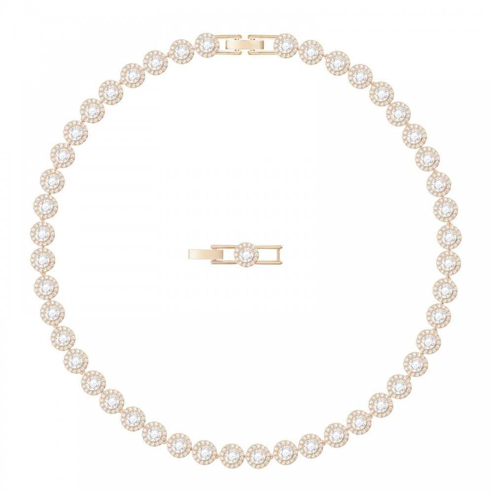 Swarovski Angelic   Rose-Gold Plated   White   Necklace 5367845