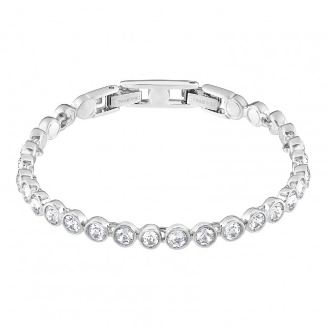 Swarovski Tennis | Clear Crystal | Rhodium Plated | Bracelet 1791305