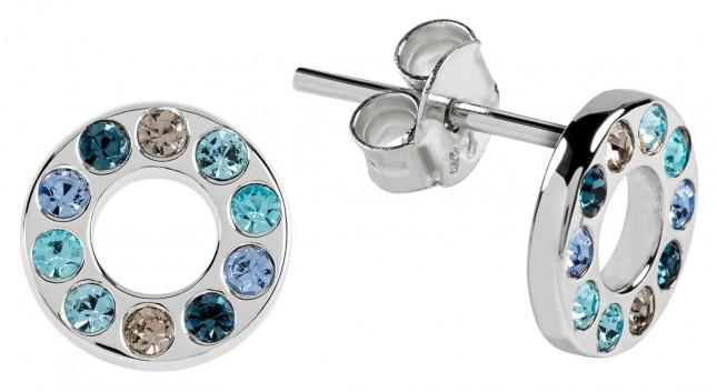 Radley Jewellery Radley Rocks   Silver Coloured Blue Stones Stud Earrings   RYJ1111