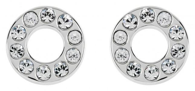 Radley Jewellery Radley Rocks | Silver Clear Stone Stud Earrings | RYJ1113