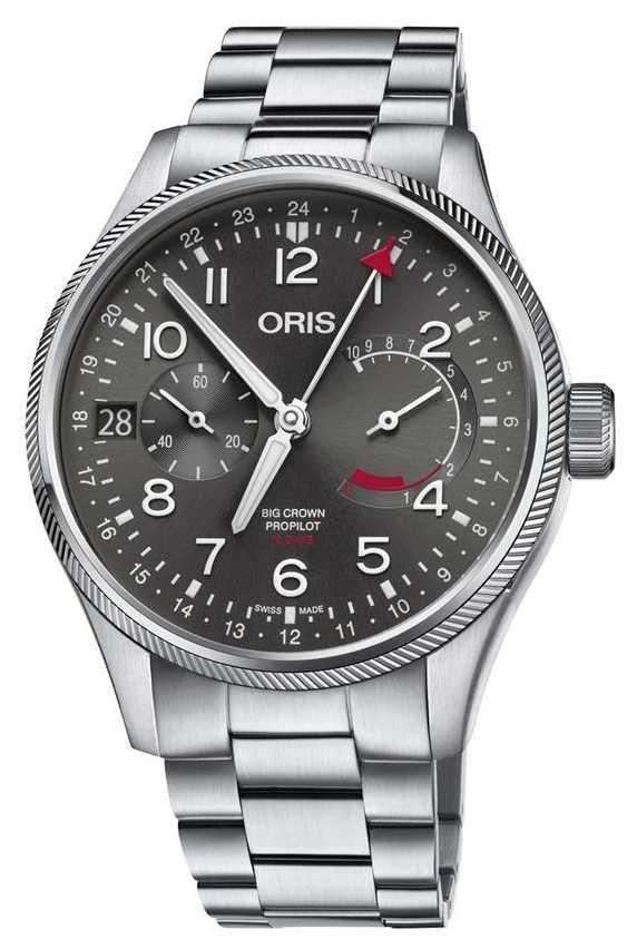 ORIS Big Crown ProPilot Calibre 114 Mens Watch 01 114 7746 4063-set 8 22 19