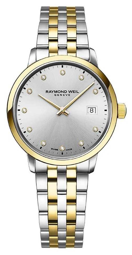 Raymond Weil | Women's Toccata | Two-Tone Stainless Steel | Silver Dial | 5985-STP-65081