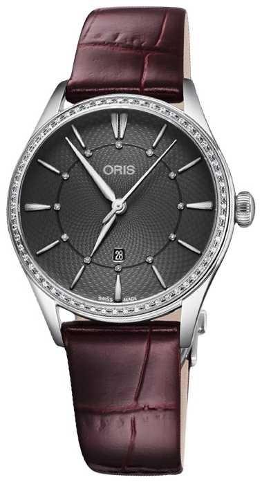 ORIS Artelier Date 33mm Ladies Watch 01 561 7724 4953-07 5 17 63FC