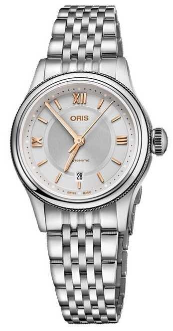 ORIS Classic Date 28.5mm Ladies Watch 01 560 7724 4051-07 5 14 31