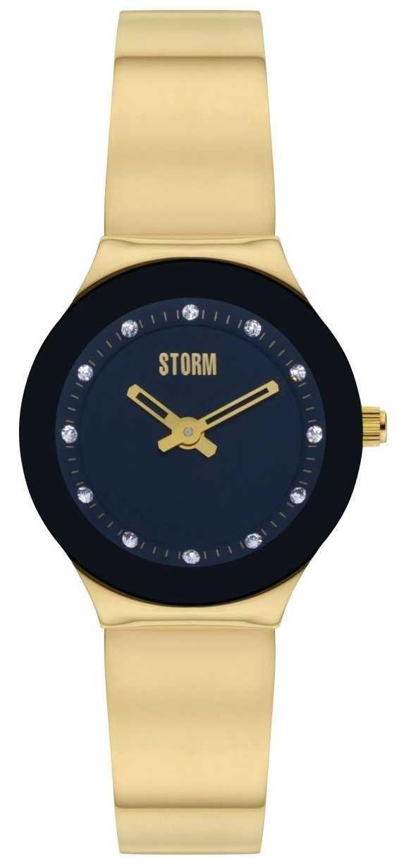 STORM | Arin Curvex Gold Black Watch | 47426/GD