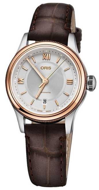 ORIS Classic Date 28.5mm Ladies Watch 01 561 7718 4371-07 5 14 31