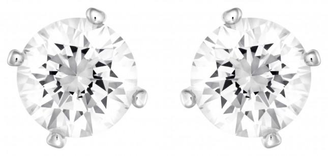 Swarovski | Attract | Pearl Pierced Earrings | White | Rhodium Plated 5183618