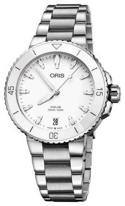 ORIS Aquis Date 36.5mm Midsize Watch 01 733 7731 4151-07 8 18 05P