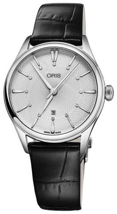 ORIS Artelier Date 33mm Ladies Watch 01 561 7724 4051-07 5 17 64FC