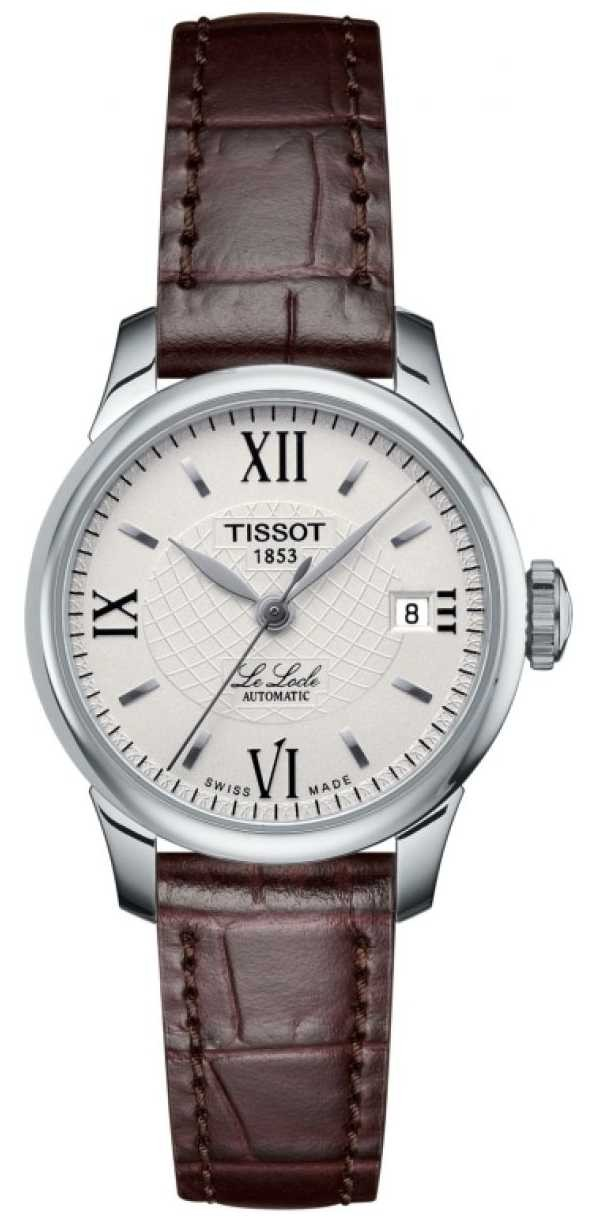 Tissot Women's Le Locle Slim Automatic Leather Watch T41111377