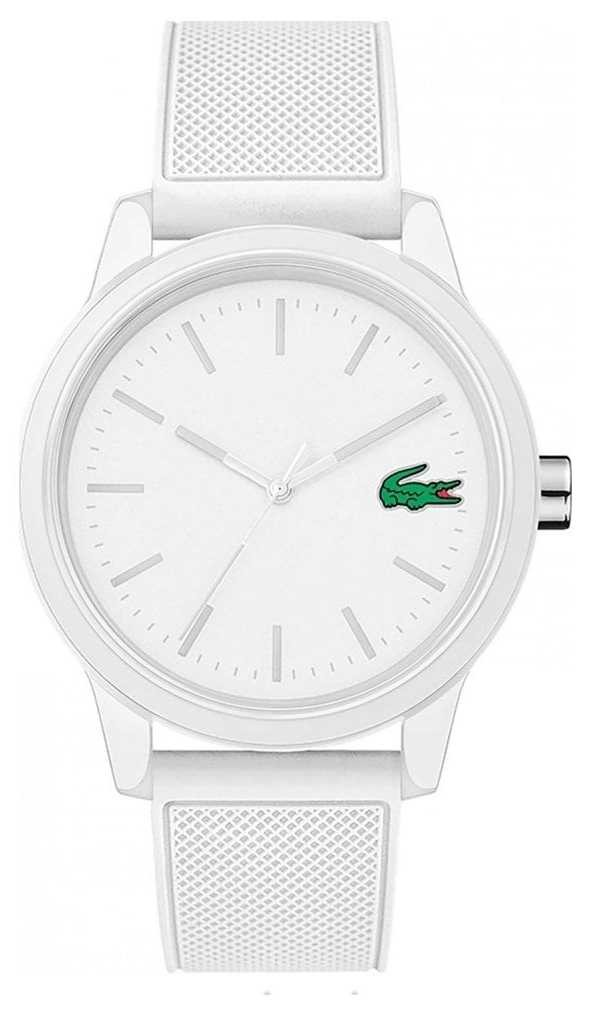 Lacoste 12.12 White Rubber Watch 2010984 2010984