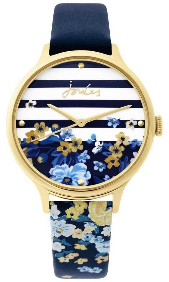 Joules | Ladies Watch | Navy Floral Print Strap | JSL015UG