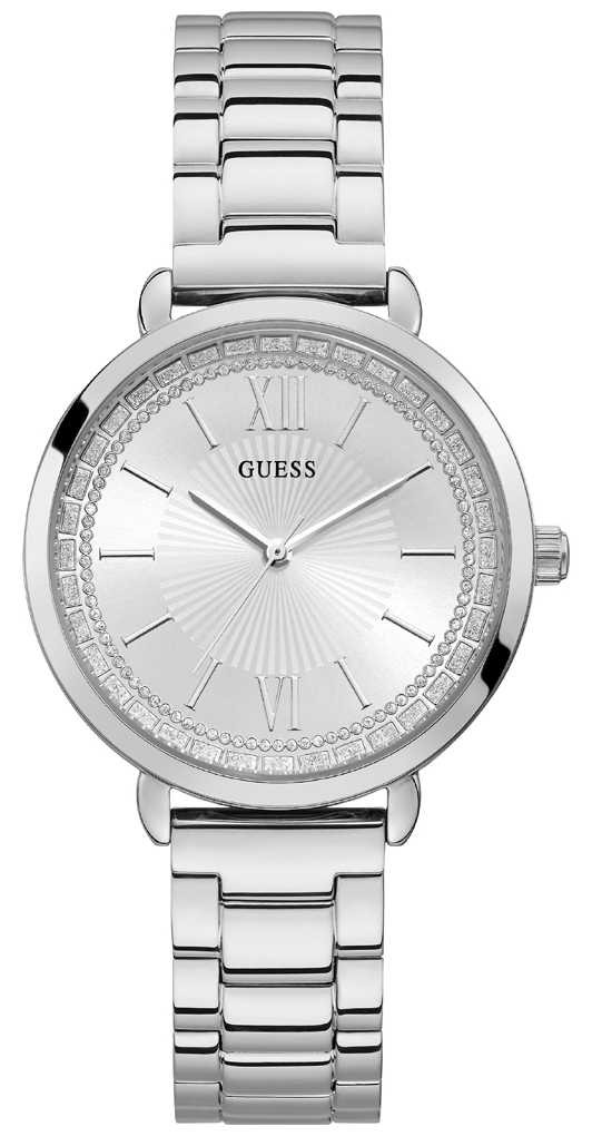 Guess | Womens Posh | Stainless Steel Strap | Silver Dial | W1231L1