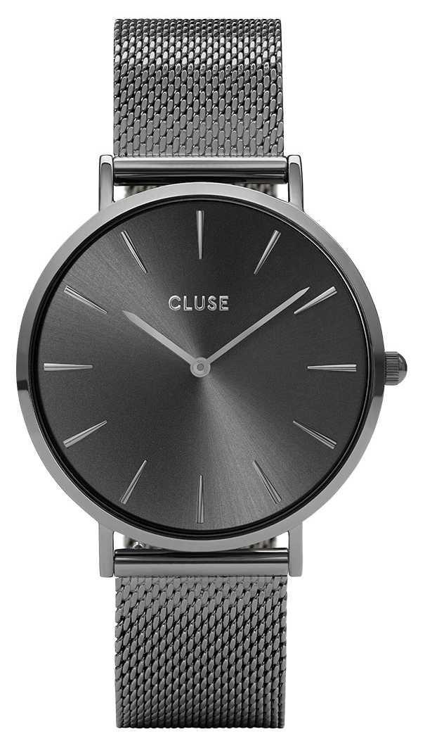 CLUSE | La Bohème | Gun Metal Mesh Bracelet | Grey Dial | CW0101201022