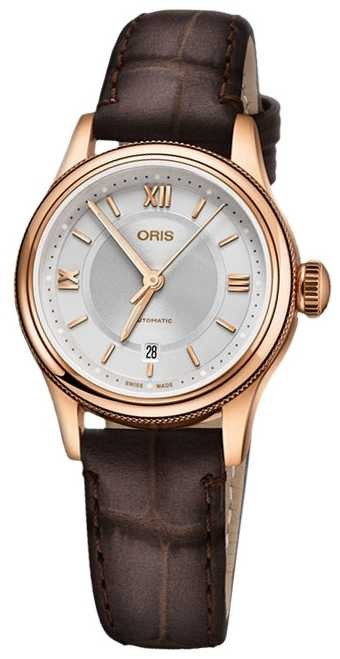 ORIS Classic Date 28.5mm Ladies Watch 01 561 7718 4375-07 5 14 35