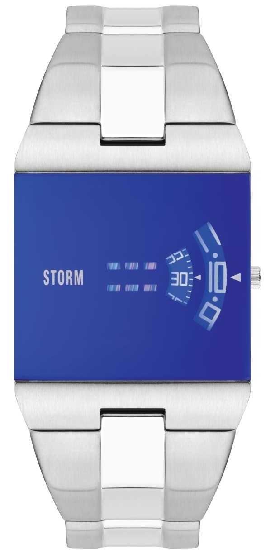 STORM   New Remi Square Lazer Blue Watch   47430/LB