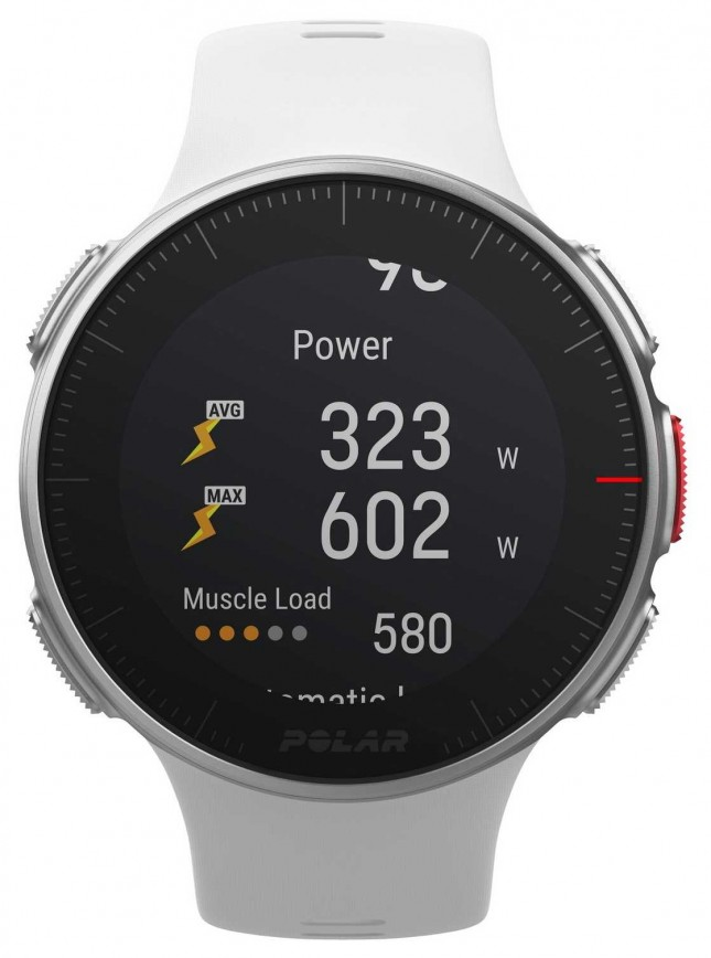 Polar Vantage V White GPS Multisport Premium Training HR 90070736