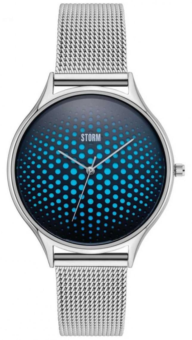 STORM   Cobra-X Blue Watch   Stainless Steel Mesh Straps   47427/B