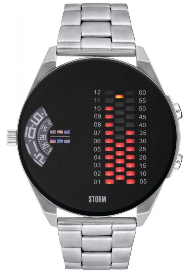 STORM | Digirem Black Stainless Steel Watch | 47431/BK
