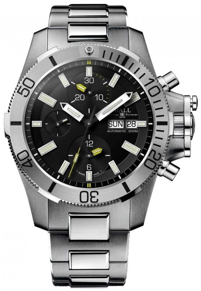 Ball Watch Company Engineer Hydrocarbon 42mm Submarine Warfare Chronograph DC2276A-SJ-BK
