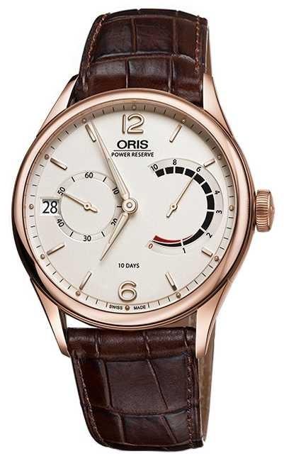 ORIS Artelier Caliber 111 Brown Leather Strap 01 111 7700 6061-set 1 23 86