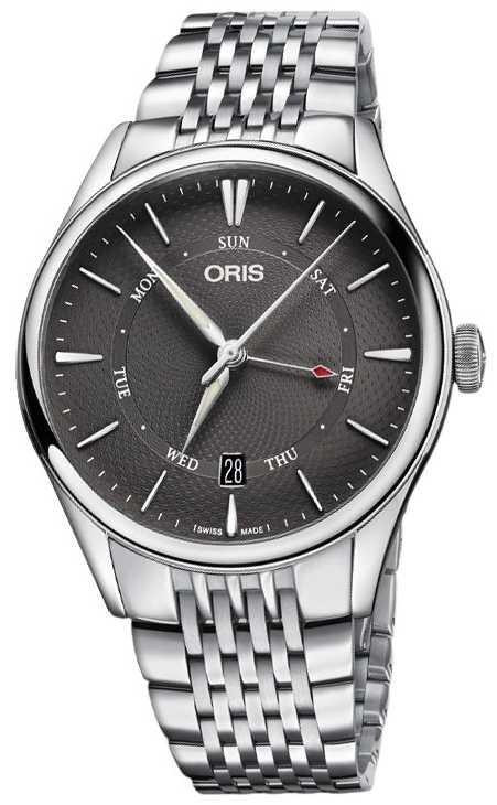 ORIS Artelier Pointer Day Date Mens Watch 01 755 7742 4053-07 8 21 79