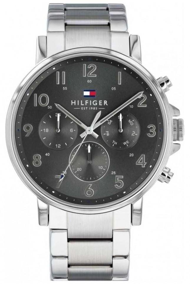 Tommy Hilfiger Daniel | Stainless Steel Bracelet | | Grey Dial 1710382