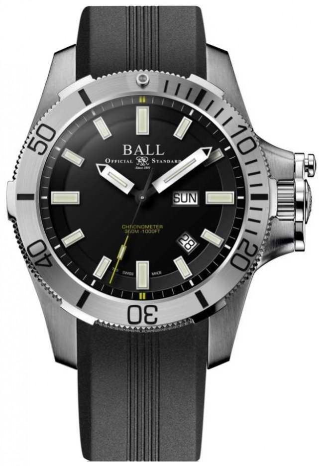 Ball Watch Company Engineer Hydrocarbon 42mm Submarine Warfare Rubber Strap DM2276A-PCJ-BK