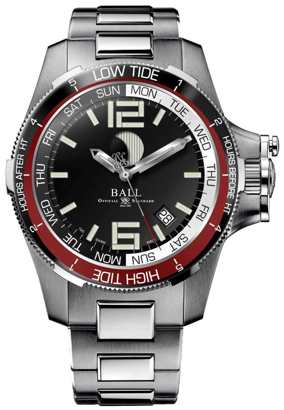 Ball Watch Company Engineer Hydrocarbon Moon Navigator 42mm DM3320C-SAJ-BK