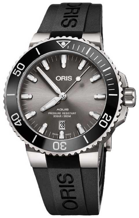 ORIS Aquis Date 43.5mm Mens Swiss Watch 01 733 7730 7153-07 4 24 63TEB