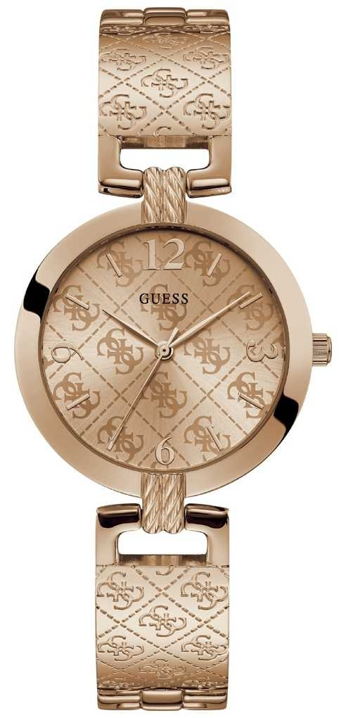 Guess | Womens G-Luxe | Rose Gold Stainless Steel | Rose Gold Dial W1228L3
