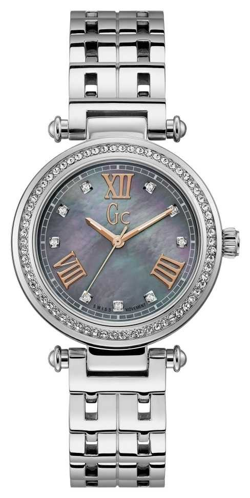 Gc | Womens PrimeChic | Stainless Steel Strap | Mother Of Pearl Y46001L5MF