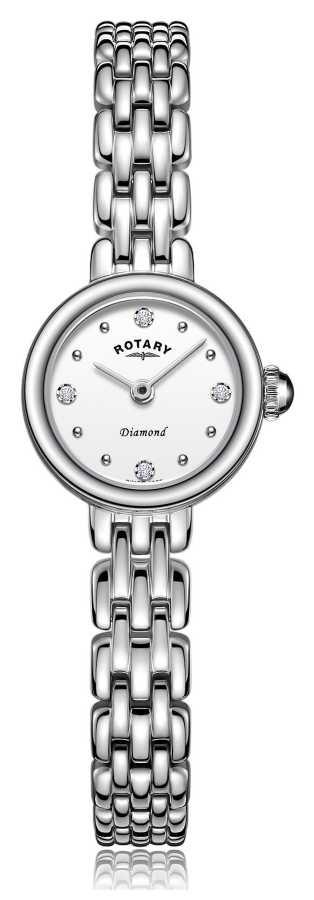 Rotary   Ladies Stainless Steel Bracelet   LB05152/70/D
