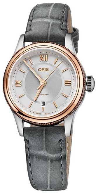 ORIS Classic Date 28.5mm Ladies Watch 01 561 7718 4371-07 5 14 33
