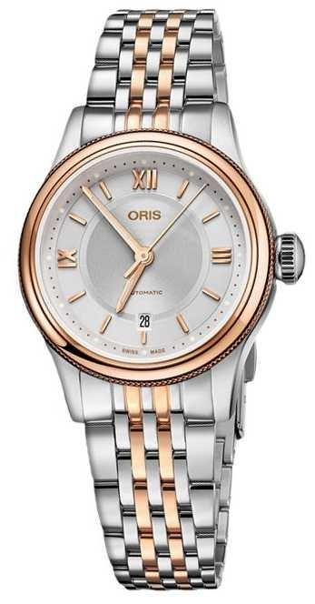 ORIS Classic Date 28.5mm Ladies Watch 01 561 7718 4371-07 8 14 12