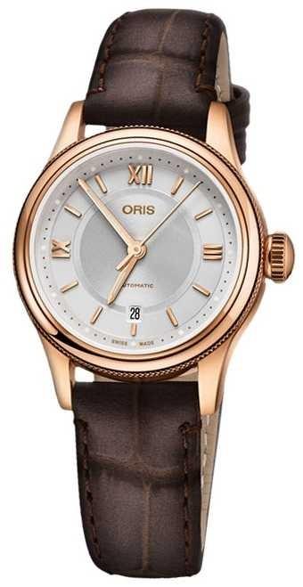 ORIS Classic Date 28.5mm Ladies Watch 01 561 7718 4871-07 6 14 32