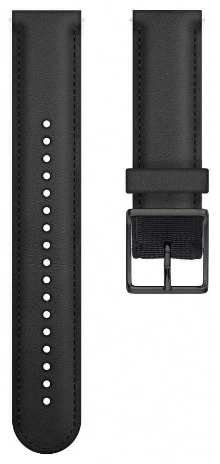 Polar | Ignite Leather Wrist Strap Only | Black M/L 91080478