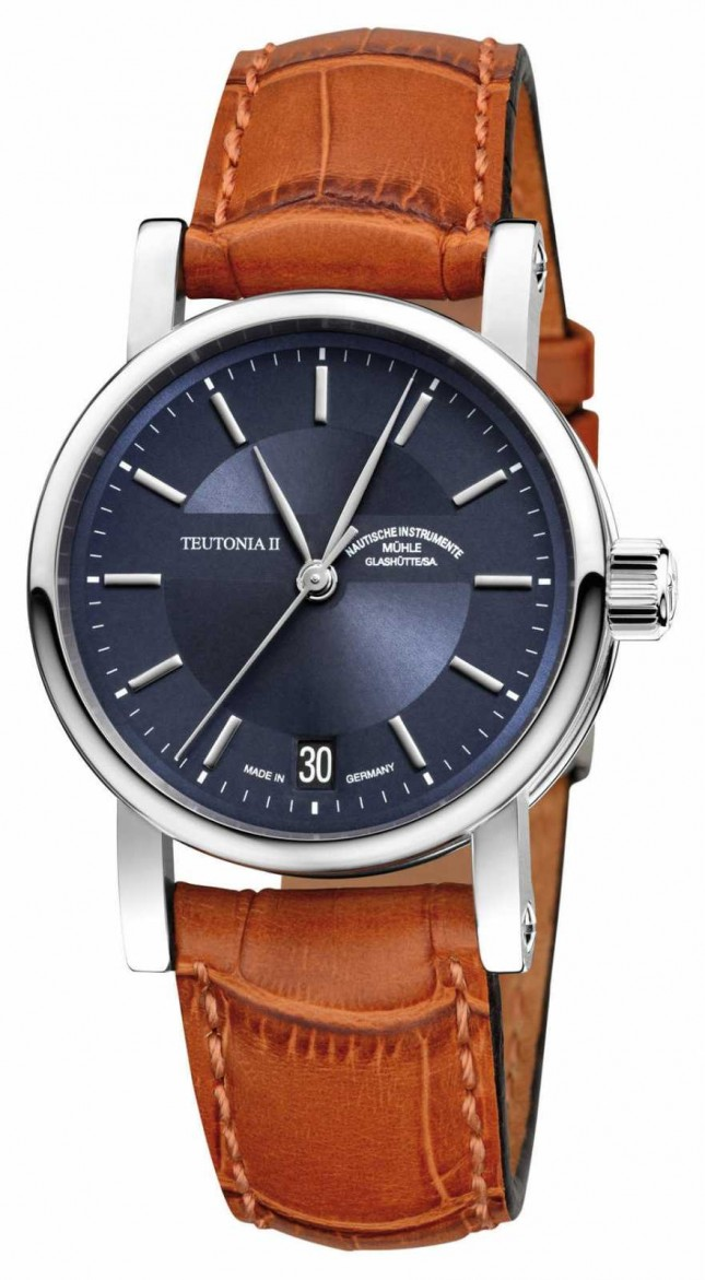 Muhle Glashutte Teutonia II Medium Automatic Watch M1-30-22-LB