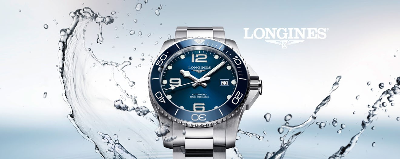 Shop Longines watches button