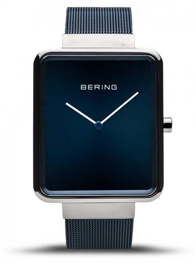 Bering | Men's Classic | Blue Mesh Bracelet | Blue Dial | 14533-307