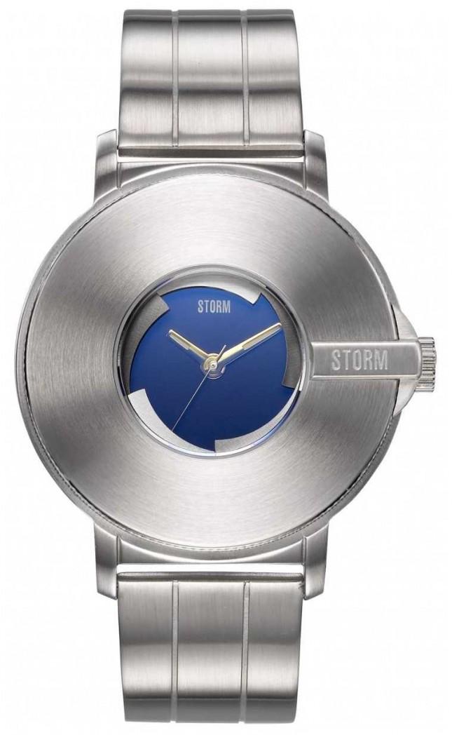 STORM | Camera V6 Lazer Blue | Limited Edition | Steel Bracelet 47463/LB