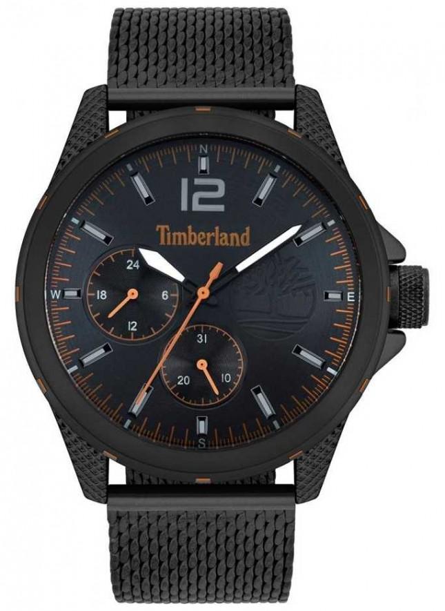 Timberland   Men's Taunton   Black Mesh Bracelet   Black Dial   15944JYB/02MM
