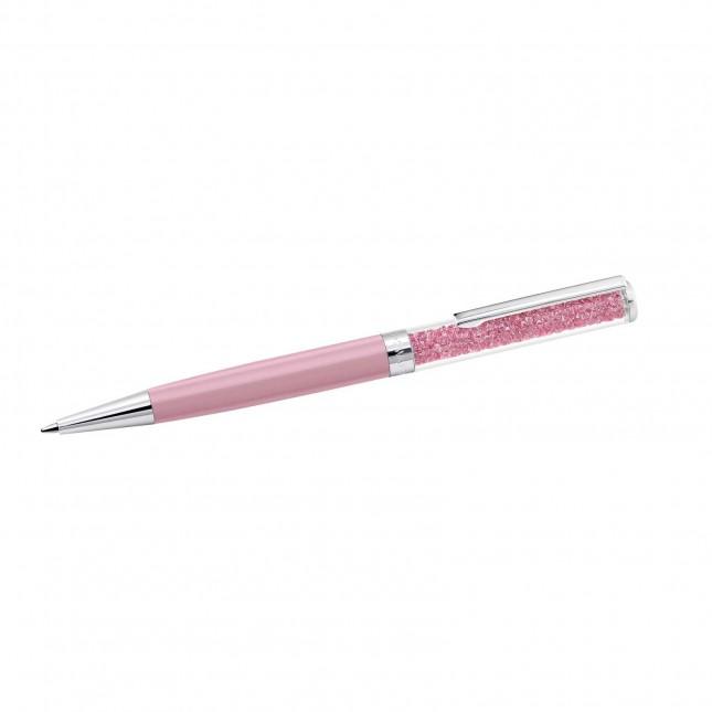Swarovski Crystalline   Pink   Stainless Steel   Ballpoint Pen 5351074
