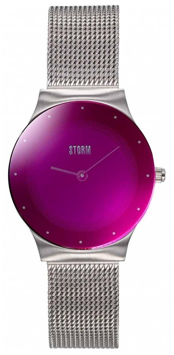 STORM | Mini Terelo Lazer Purple | Steel Mesh Bracelet | 47452/LP
