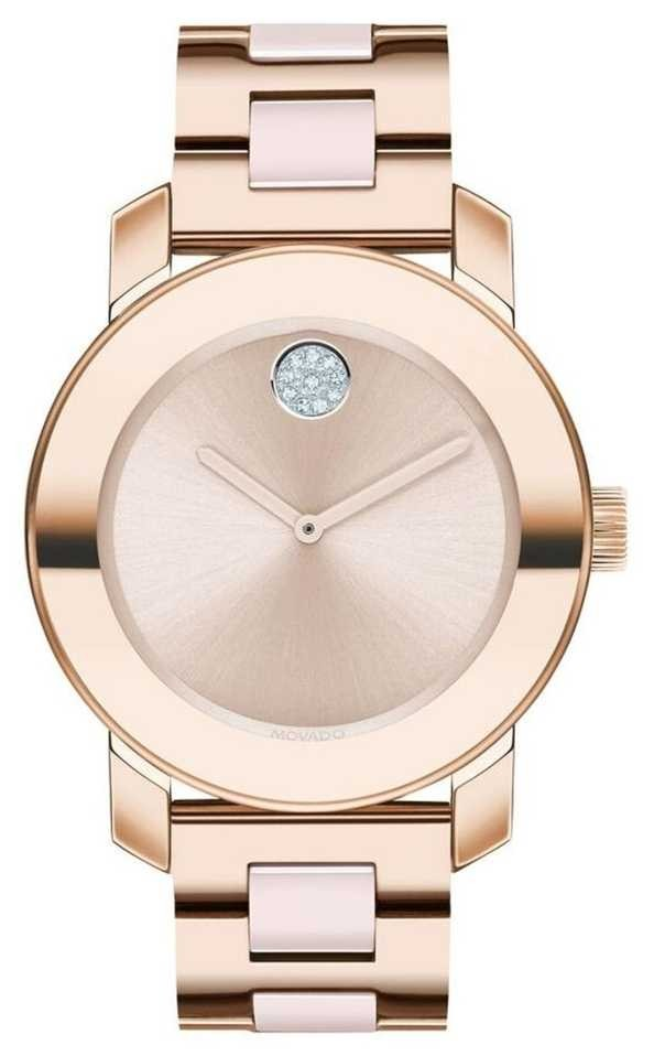 Movado Bold | Rose Gold Plated Bracelet | Rose Gold Dial | 3600639