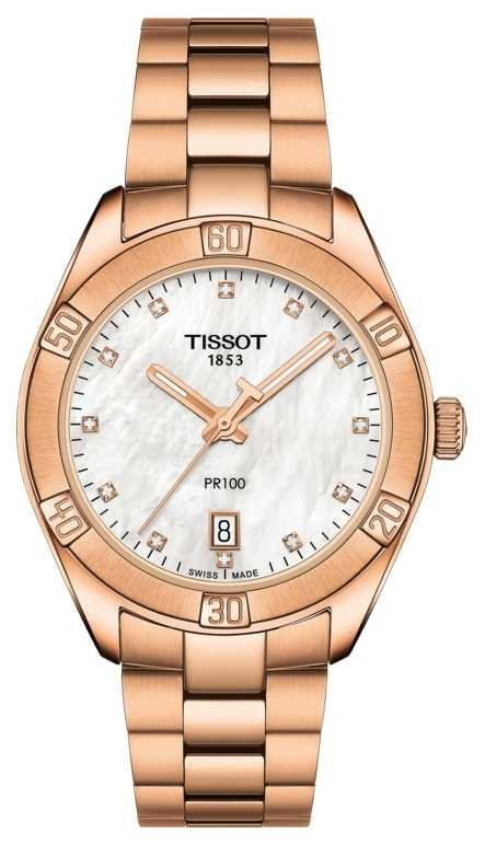 Tissot | PR 100 Sport Chic | Rose Gold Bracelet | Ex Display Model T1019103311600EX-DISPLAY