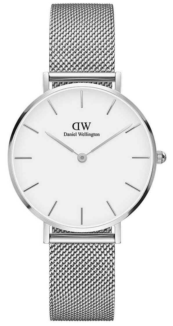 Daniel Wellington   Grand Petite 36   Steel Mesh   White Dial   DW00100306