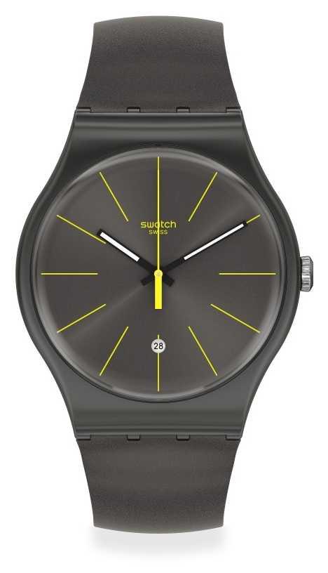 Swatch | Original New Gent | Charcolazing Watch SUOB404